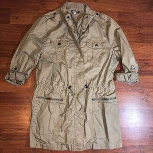 Roots Pocket Utility Field Jacket in Tan